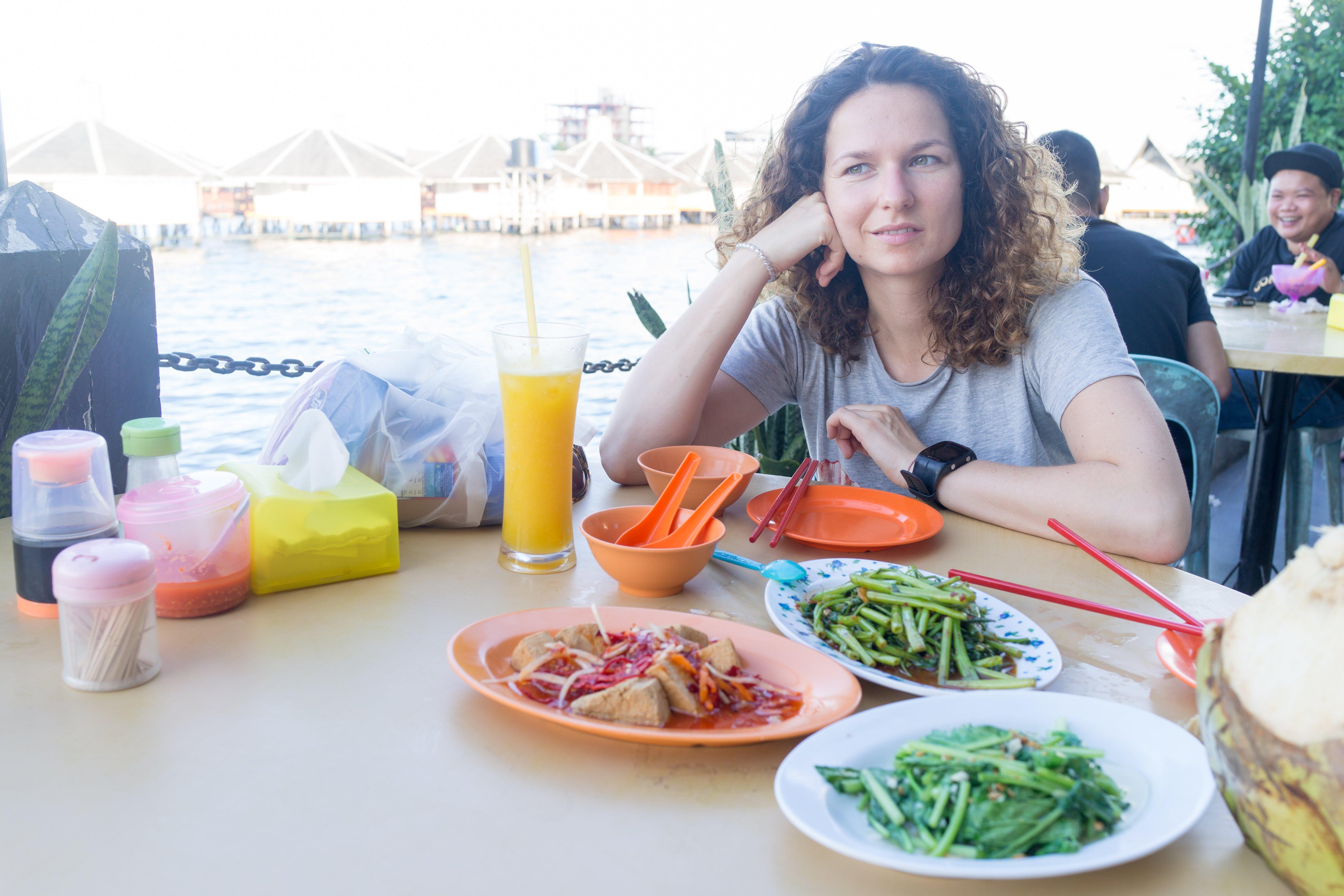 Vegan Food in Semporna