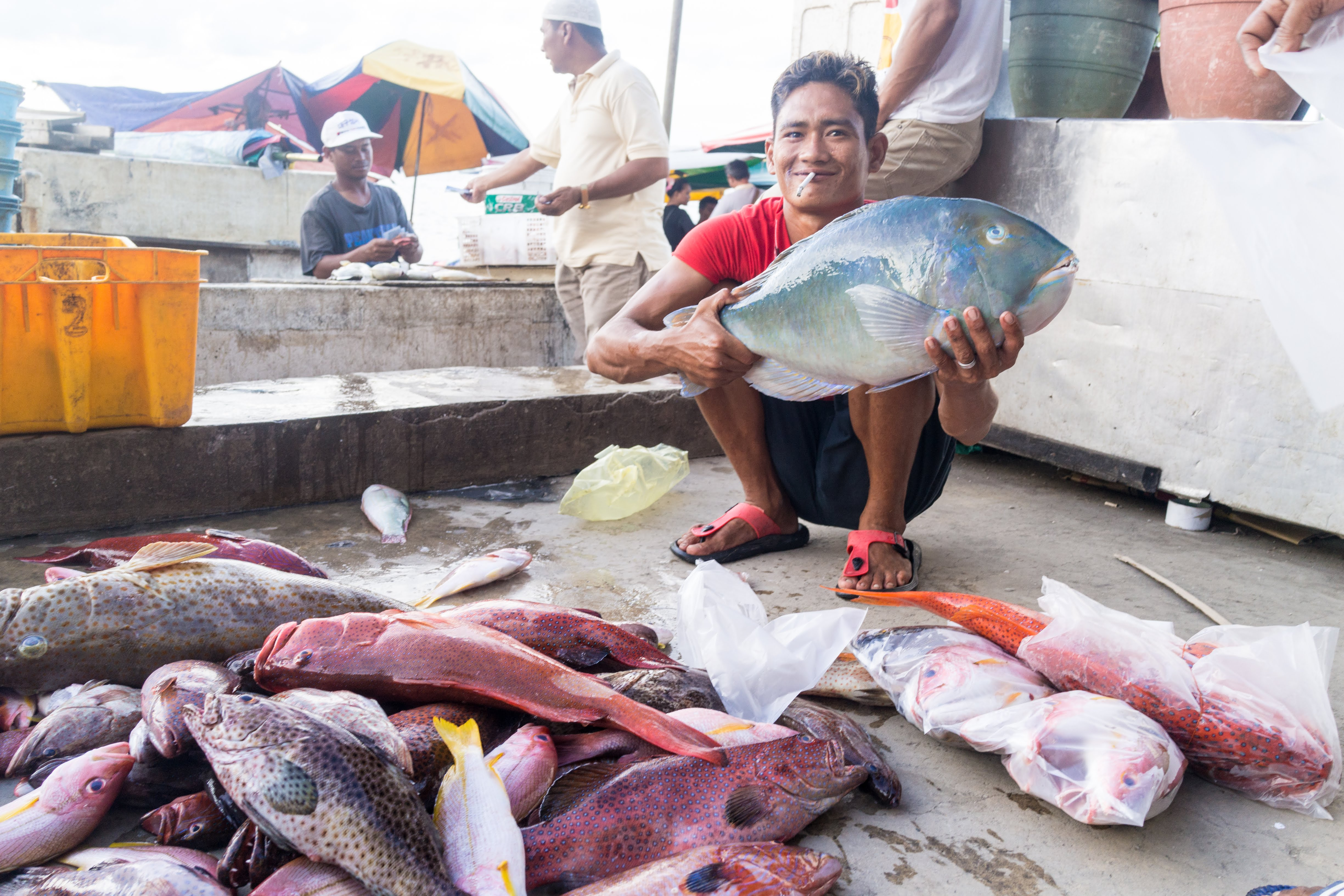 Semporna Fisherman