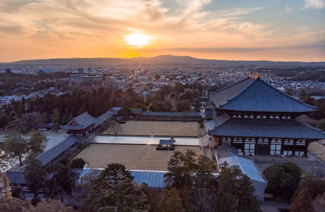 Nara Best Temples Sunset