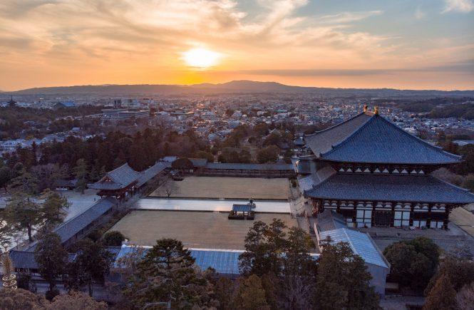 Nara Best Temples Sunset