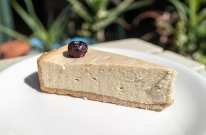 Vegan Cheesecake Green Earth