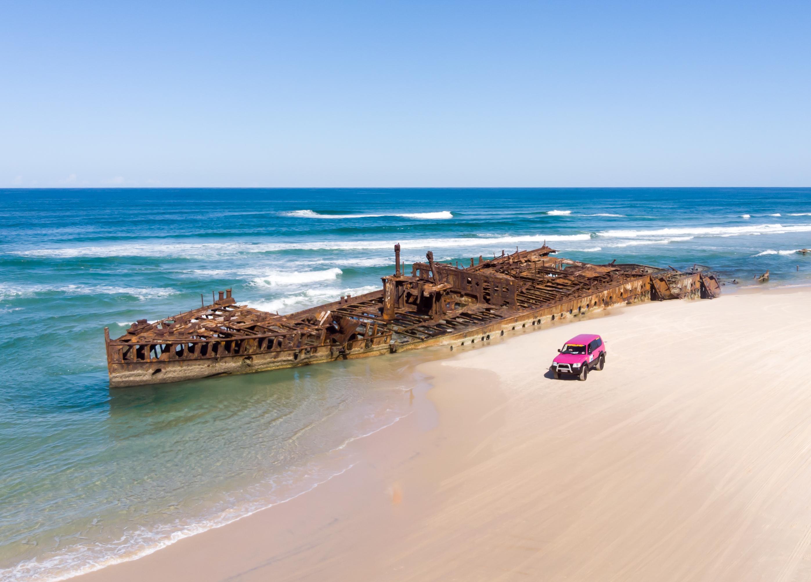 Fraser Island Maheno Ship Wreck