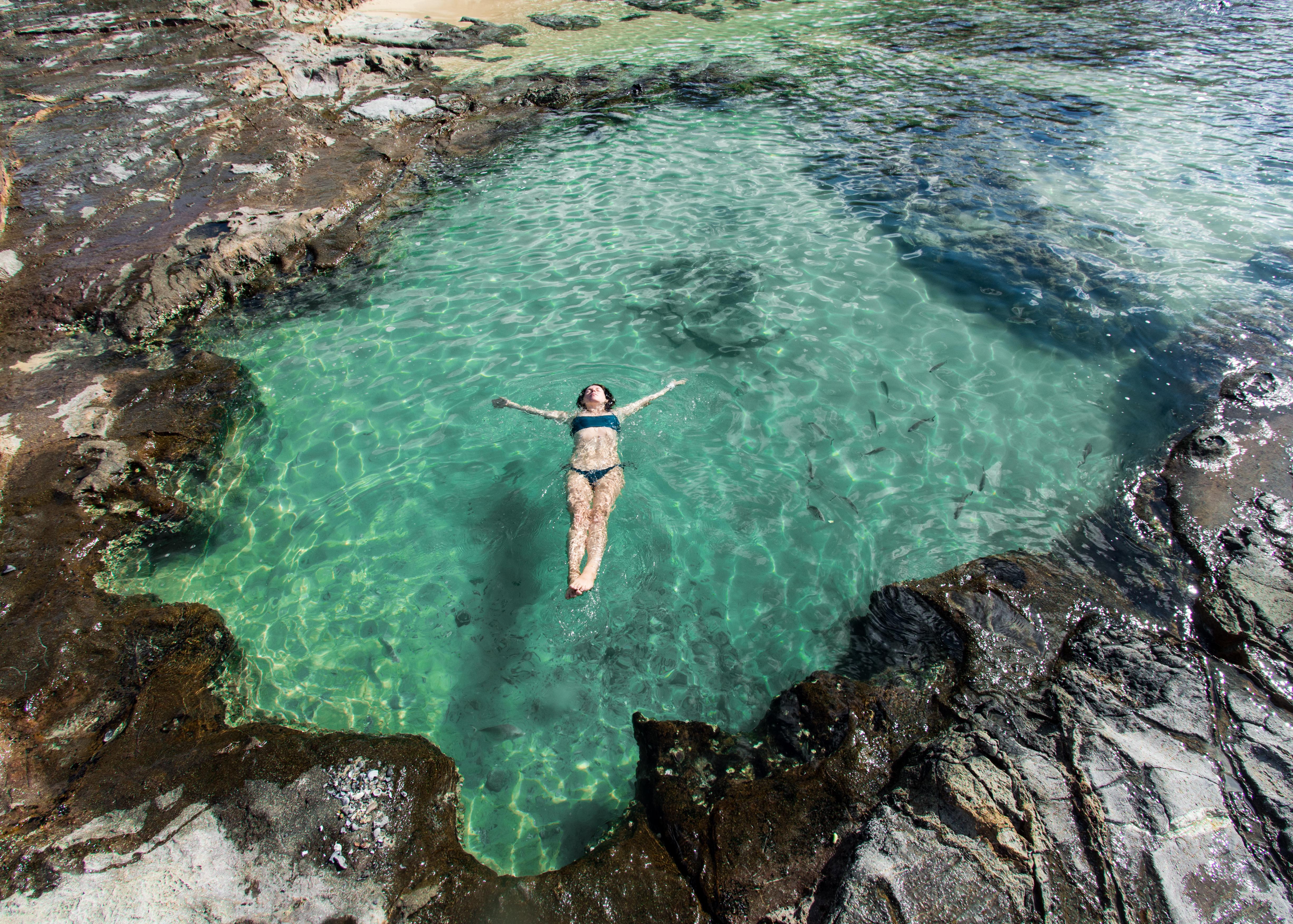 Fraser Island Champagne Pools