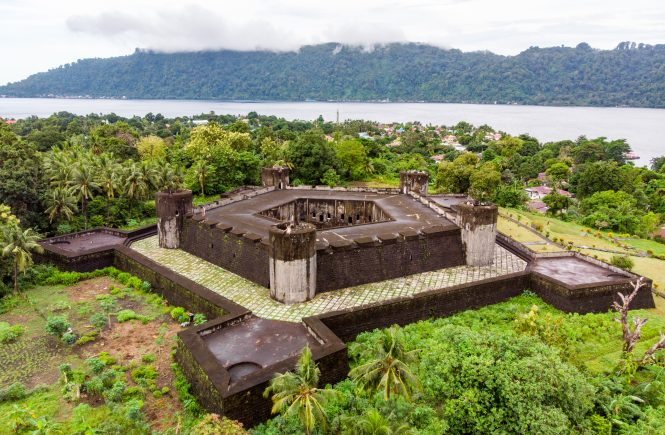 Banda Islands Fort Belgica