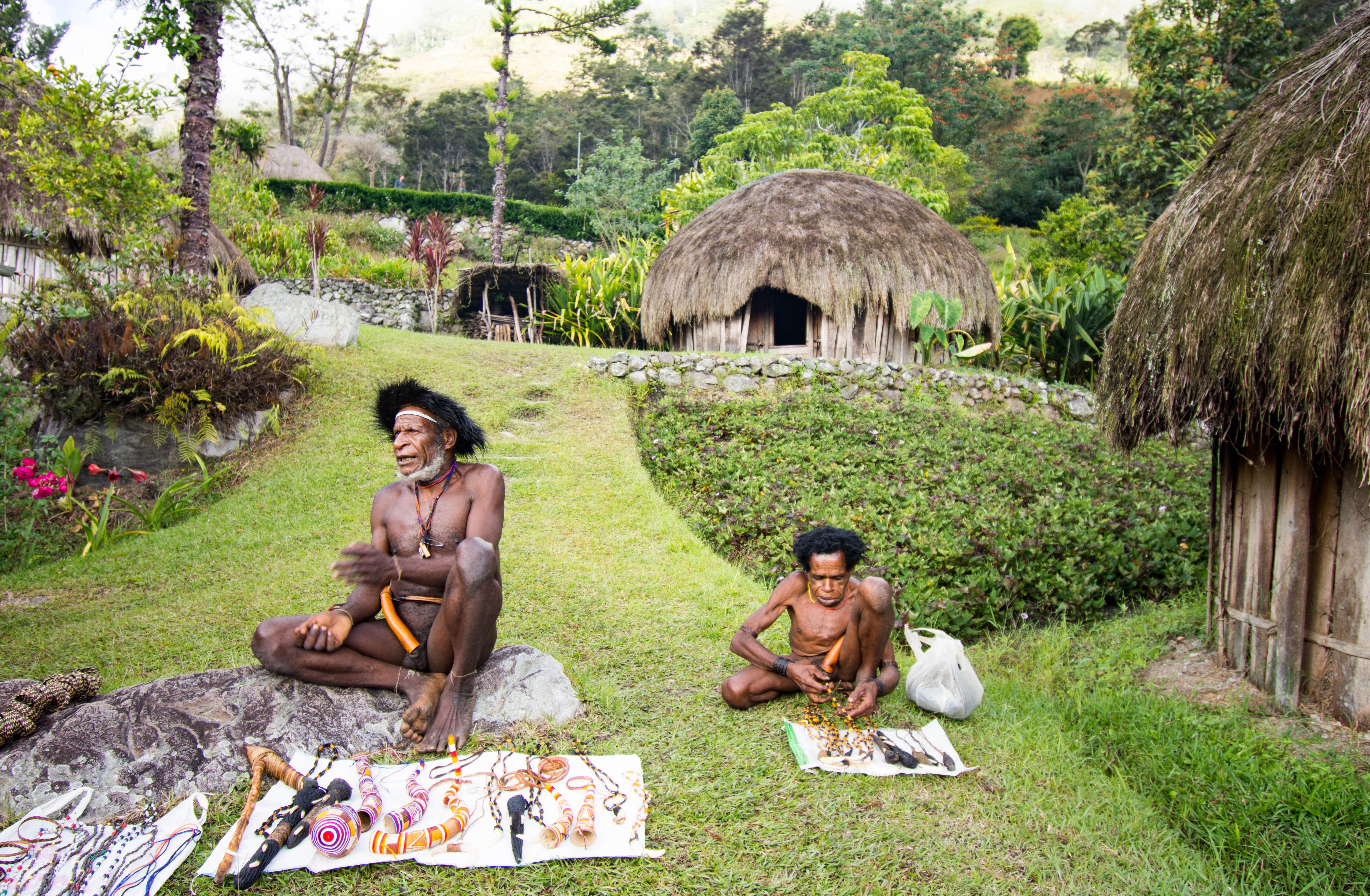 Baliem Valley Naked People