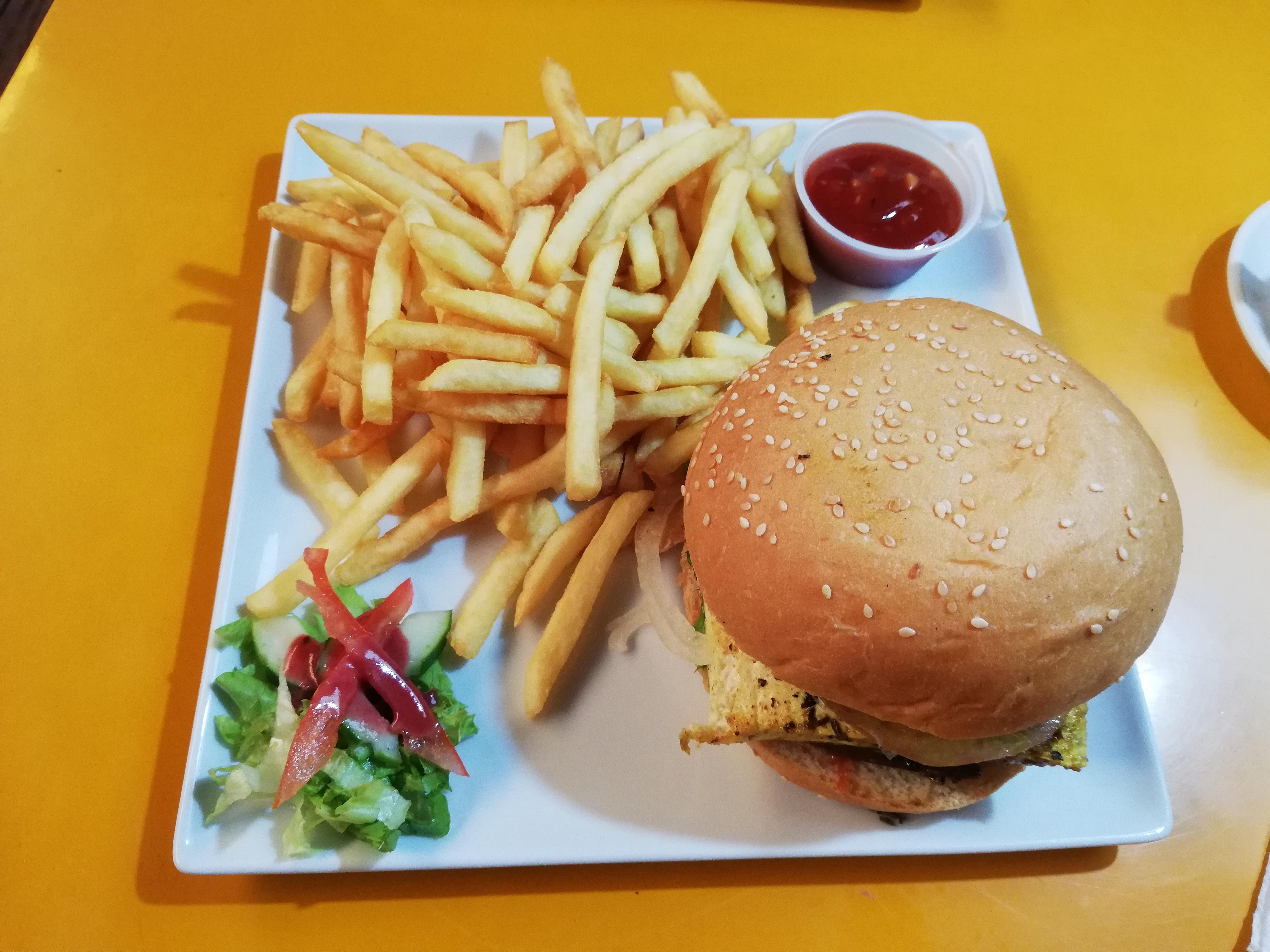 Atrium Vegan Burger Tahiti