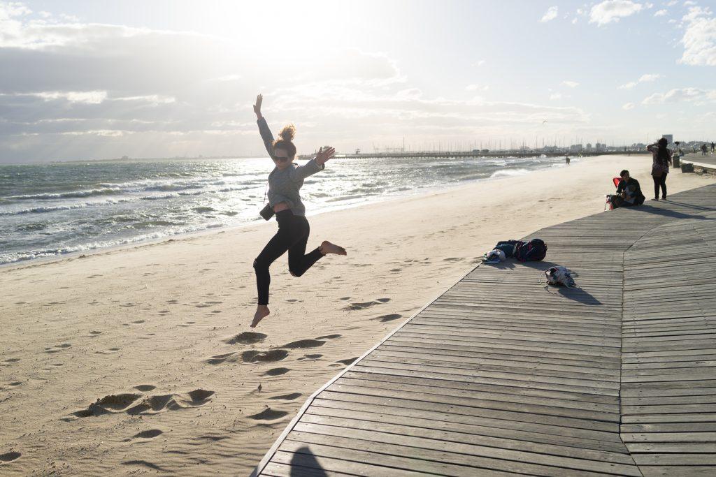Melbourne St. Kilda Beach