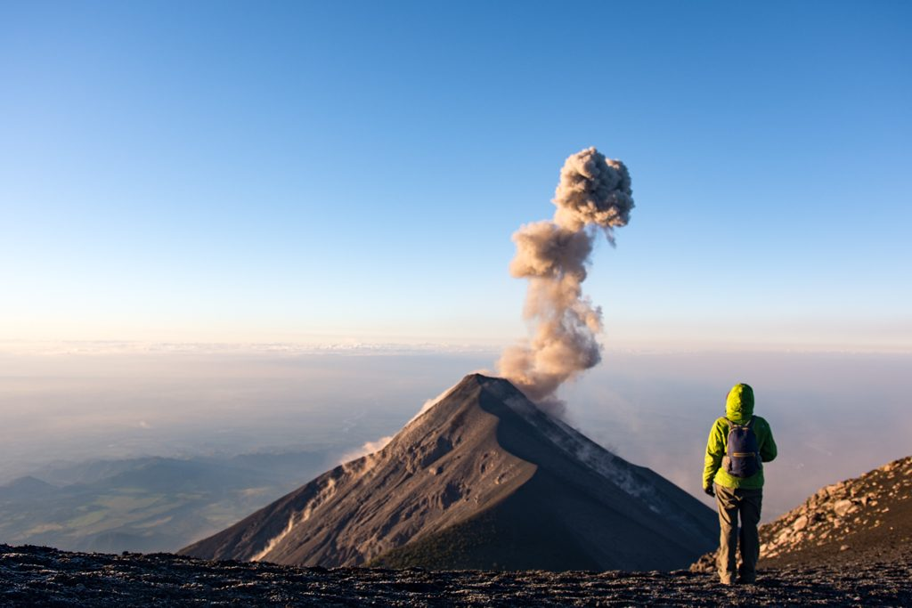 Volcano Fuego which tour operator